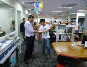 2011- New Premises Celebrates